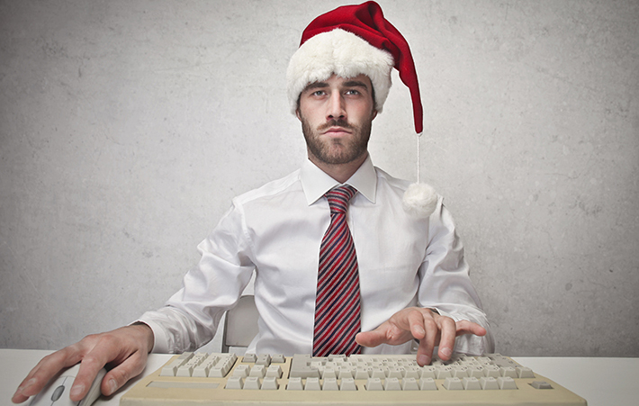 Surviving the holidays while at work