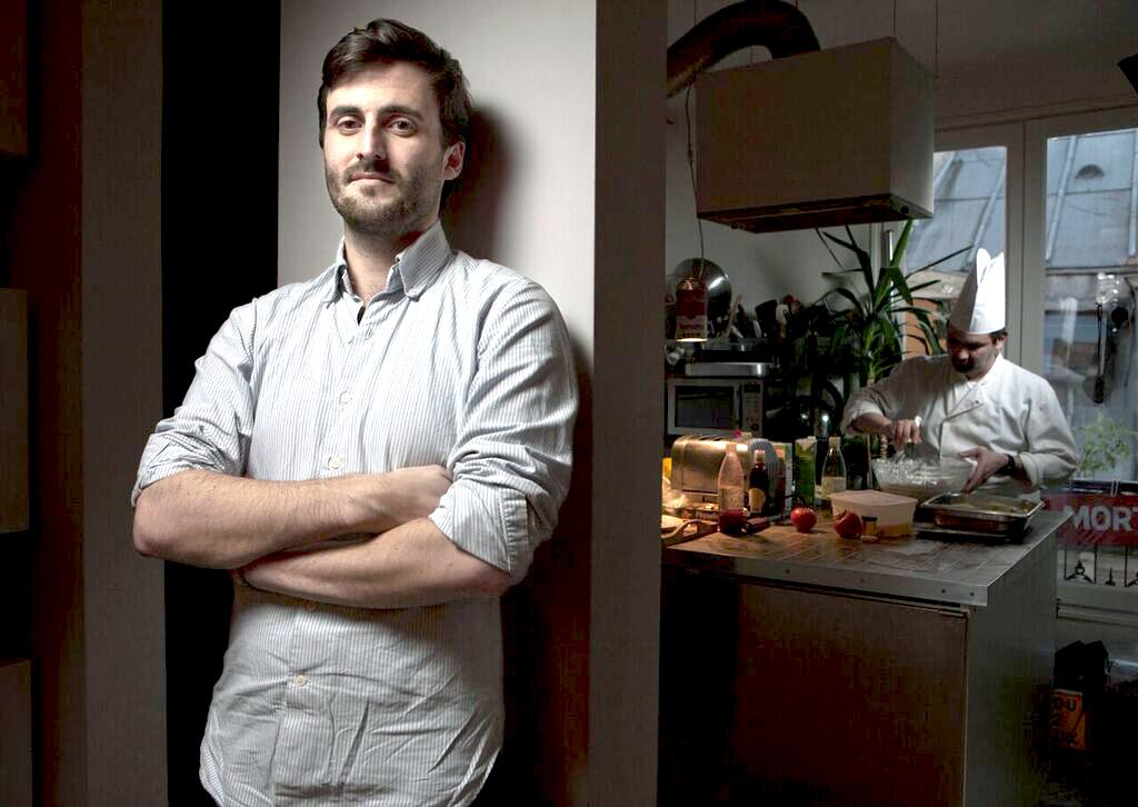 Stephen Leguillon, La Belle Assiette co-founder and CEO