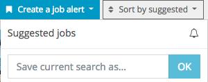 Create job a alert