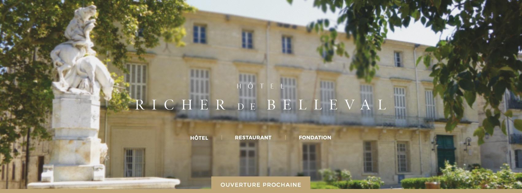 Le Jardin des Sens - Hôtel Richer de Belleval (Opening Juin 2021)