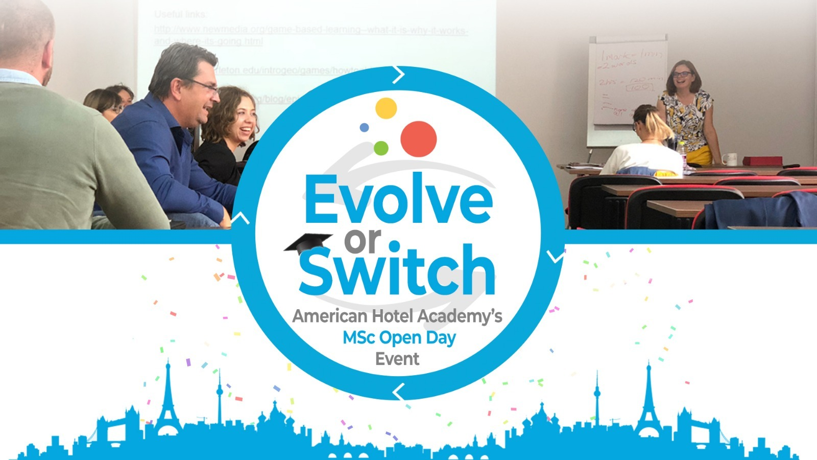 Master's Open Day - Evolve or Switch
