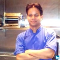 Chef Harsh Sonkar with 8 year experience.