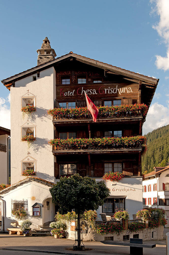 Romantik-Hotel Chesa Grischuna