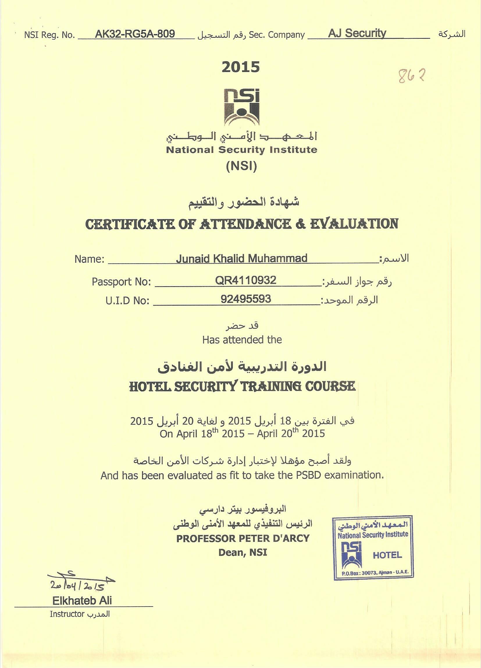 Hotel NSI Certificate-2015.jpg