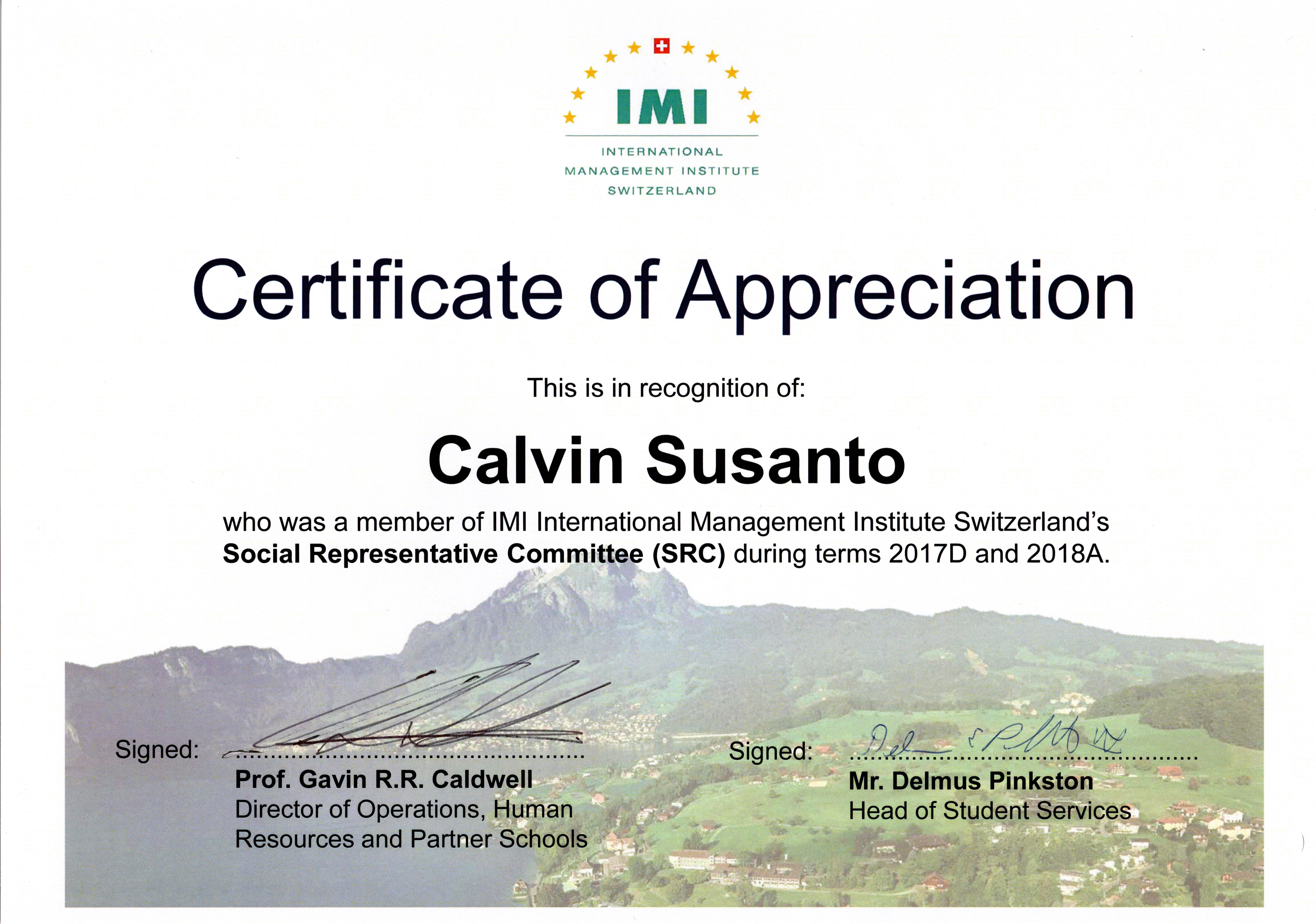 Social Representative Committee Certificate.jpg
