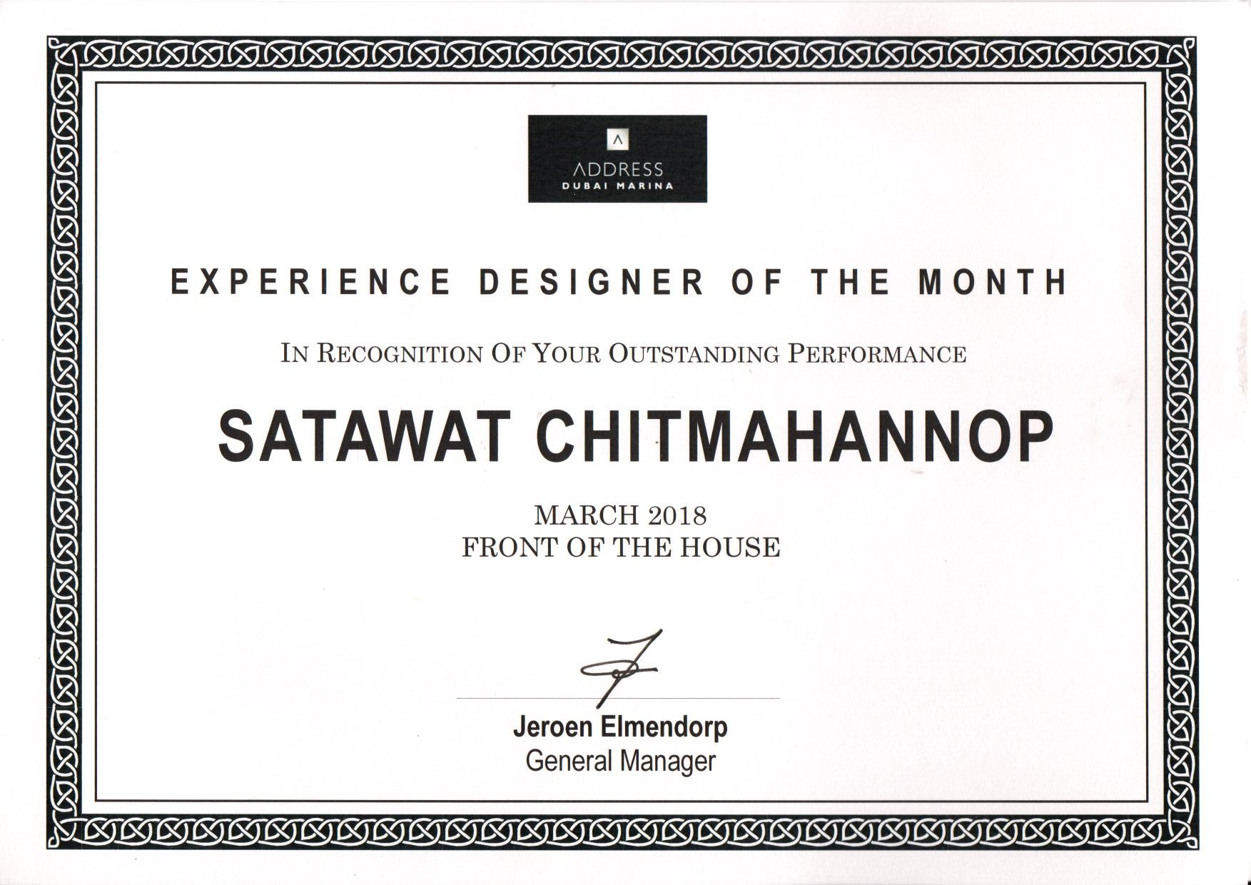Satawat Front of the House, March 2018 Certificate.jpg
